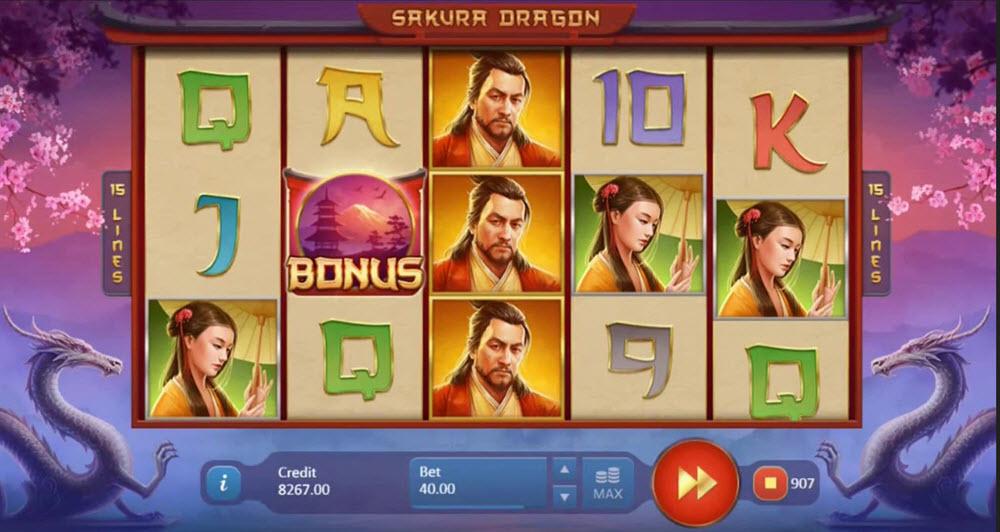 Sakura Dragon slot